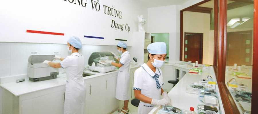 Nha khoa minh khai- Infection control with Europe standard